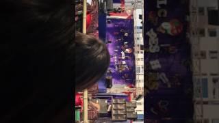 Rajnish kr Yadav (10th batch)singing in freshers party of 11th batch