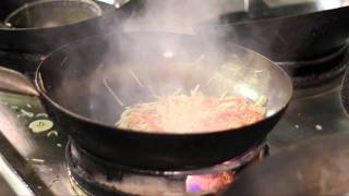 Singapore Noodles with Hot Wok Chilli Sauce