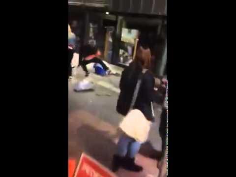 Xxx Mp4 Man Caught On Camera Punching Random People At Glasgow Rally 3gp Sex
