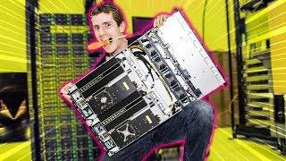 AMD LET ME BUILD THEIR NEW 80 VEGA SUPERCOMPUTER…