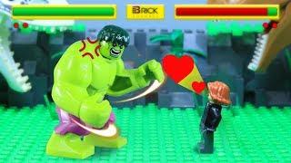Lego Hulk: Arcade Game