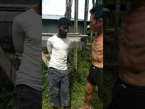 Xxx Mp4 This Muslim Man Is From Laluk Assam Stolen Mobile Phone While He Was Caught Red Handed By Villagers 3gp Sex