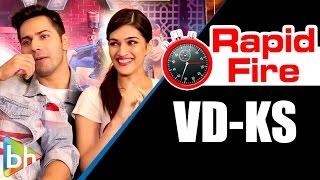 Varun Dhawan-Kriti Sanon's Hilarious Rapid Fire On 'Dilwale', SRK, Salman, Alia, 'Sultan'
