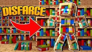 Minecraft: DISFARCE DE ESTANTE DE LIVROS - (Esconde-Esconde)