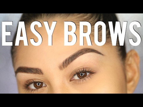 PERFECT BROWS IN 3 STEPS?! | Eyebrow Tutorial for Beginners