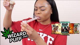 Smoke Sesh #7: WizardPuff.com Product Testing + Trying Out Rap Snacks