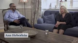Anosh Ghasri i samtal med Ann Heberlein