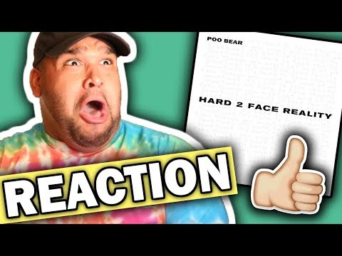 Poo Bear ft. Justin Bieber, Jay Electronica - Hard 2 Face Reality [REACTION]