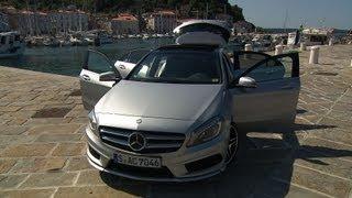 neu: Mercedes A-Klasse 2012