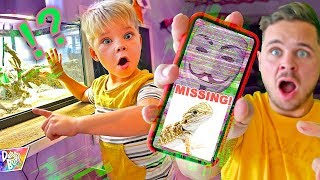 OUR LIZARD IS MISSING! (Game Master Secret Phone Call!)