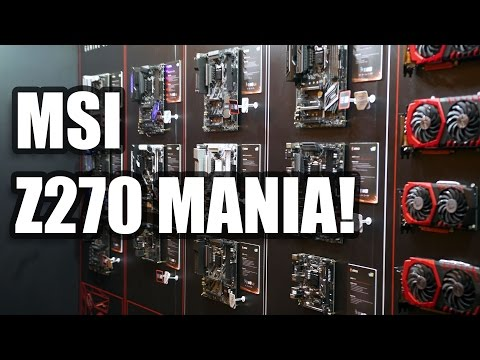 CES 2017 What does MSI have in store for Motherboards and GPUs