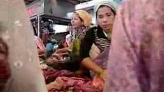 Siem Reap, Cambodia market - Sisamouth, Sereysothea, Pan Ron