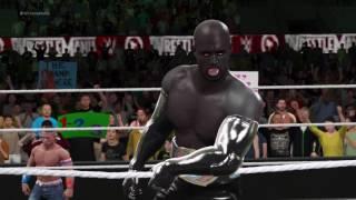 WWE 2K17 John Cena vs (Revenate) Jaxx