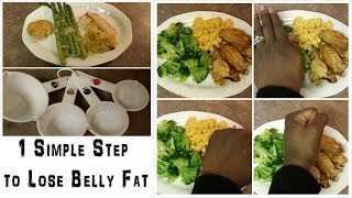 Lose Belly Fat with Portion Control (TRY THIS 1 SIMPLE TIP)