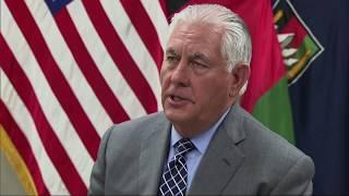 Secretary Tillerson's Visit to Afghanistan