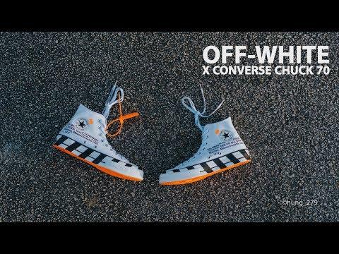 Xxx Mp4 Đập Hộp Đánh Giá On Feet đôi Off White X Converse Chuck Taylor 70 Hung Dinh 3gp Sex