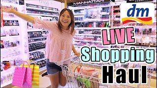 dm LIVE SHOPPING HAUL August 2017 | Komm mit zum Einkaufen! Mamiseelen