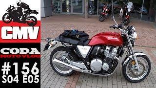 CMV#156: Honda CB1100 EX pierwsza jazda - CODA MV