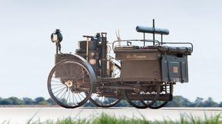 """أقدم سيارة في العالم """"تعمل"""" لحد الآن تعود لعام 1884م !!"""