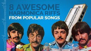 8 Awesome Harmonica Riffs from Popular Songs (inc. Tabs!)