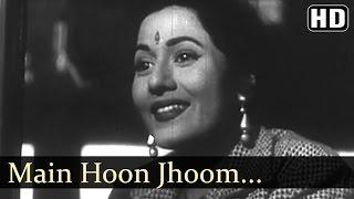 Main Hoon Jhoom Jhoom Jhumroo  - Jhumroo Songs - Kishore Kumar - Madhubala - Fun Song - Filmigaane