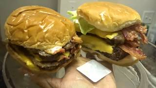 HOW TO MAKE A WENDY'S BACONATOR HOMECOOKED VS FASTFOOD