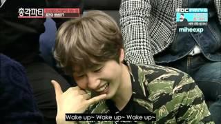 [ENG SUB] Bachelor Party - Kangin, Eunhyuk and N's Morning Call