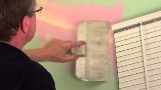 Repairing Drywall Cracks - Settling Crack