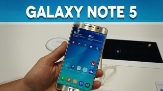 Samsung Galaxy Note 5, prise en main - Test Mobile