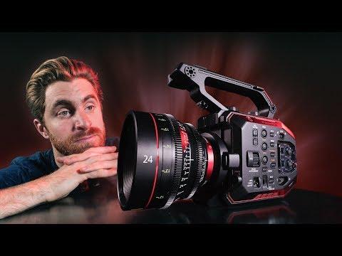 Hands On Review Panasonic AU EVA1