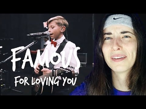 Mason Ramsey (Yodeling Walmart Kid) - Famous [Lyric Video] REACTION