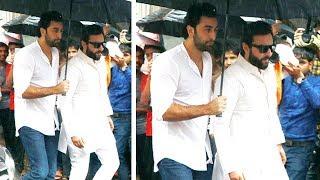 LIVE Ranbir Kapoor & Saif Ali Khan Pay Respect To Shashi Kapoor