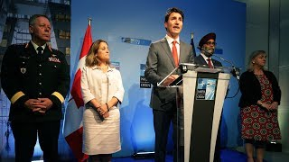Trudeau says Canada will increase defence budget