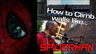 How to Climb Walls like SpiderMan - After Effects Superhero Tutorial