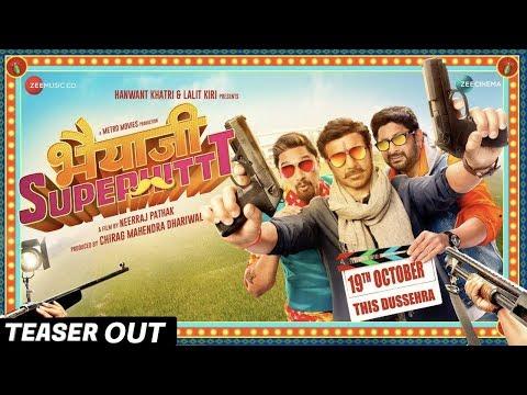Sunny Deol's Bhaiyaji Superhit Teaser Out   Preity Zinta   Ameesha Patel   Arshad Warsi