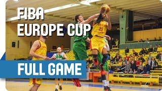 Energia (ROU) v Khimik (UKR) - Full Game - Rd of 16 - Game 3 - FIBA Europe Cup
