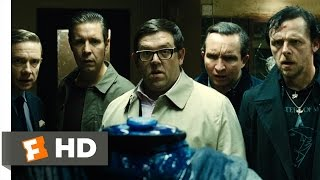 The World's End (3/10) Movie CLIP - The Bathroom Fight (2013) HD