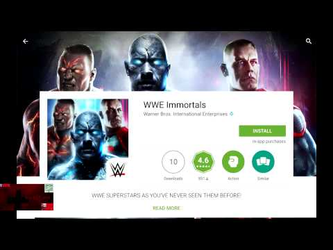 WWE Immortals - How to Search for and Download it on Android
