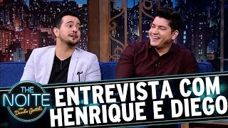 Entrevista com Henrique e Diego   The Noite (14/09/17)