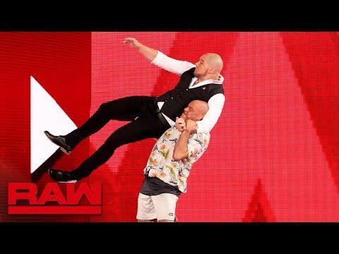 Xxx Mp4 Kurt Angle Gets Retribution Against Acting GM Baron Corbin Raw Oct 15 2018 3gp Sex