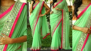 5 Gorgeous Ways to Wear Designer Saree with Thin Perfect Pleats for Party like a Bollywood Celebrity