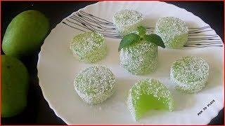 बनाइये आम से बनने वाली नयी मिठाई जिसे खाते ही बच्चे करें आपकी बड़ाई   Mango Jelly sweet   Aam jelly