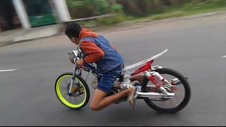 Setting Drag Bike Jupiter z