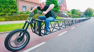 8 إختراعات دراجات في العالم- قمة الإبداع !