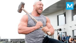 Ryback Training for Wrestling (WWE)   Muscle Madness