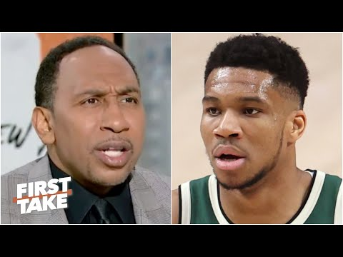 Stephen A. reacts to the Bucks win vs. the Nets I DON T care First Take