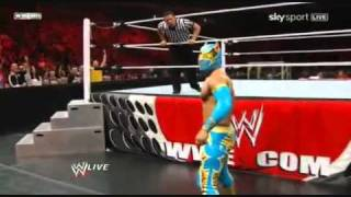 Sin Cara first WWE Match