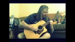 Maton Australian series EA80C-Partial Capo playing my song-Brown Paper Bag.wmv