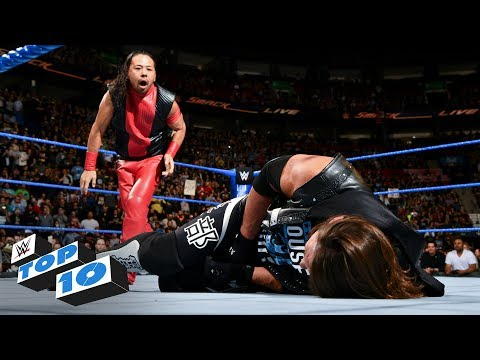 Xxx Mp4 Top 10 SmackDown LIVE Moments WWE Top 10 May 1 2018 3gp Sex