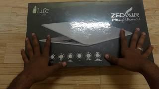 I Life ZedAir Unboxing